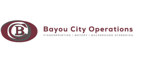 Bayou City Operations Fingerprinting